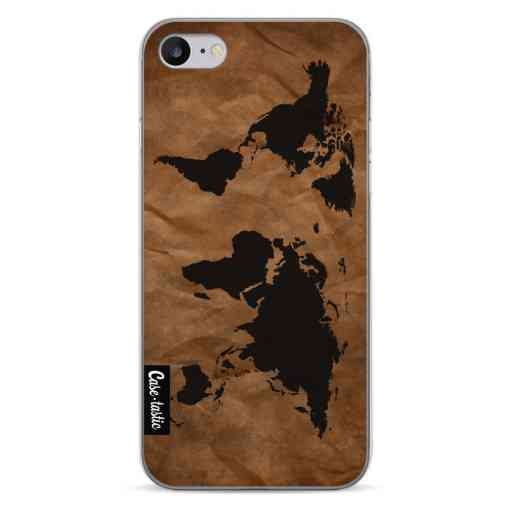Casetastic Softcover Apple iPhone 7 / 8 - World Map