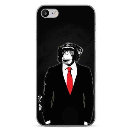 Casetastic Softcover Apple iPhone 7 / 8 / SE (2020) - Domesticated Monkey