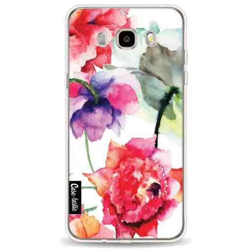 Casetastic Softcover Samsung Galaxy J5 (2016) - Watercolor Flowers