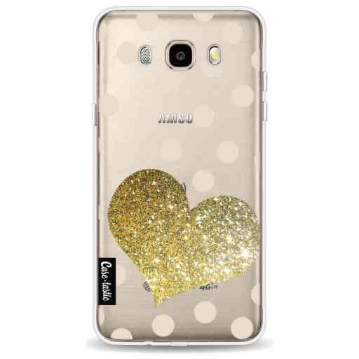 Casetastic Softcover Samsung Galaxy J5 (2016) - Glitter Heart