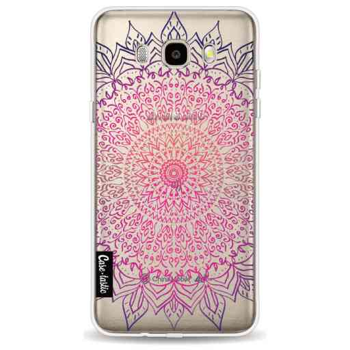 Casetastic Softcover Samsung Galaxy J5 (2016) - Happy Mandala