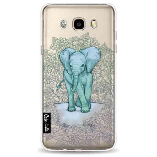 Casetastic Softcover Samsung Galaxy J5 (2016) - Emerald Elephant
