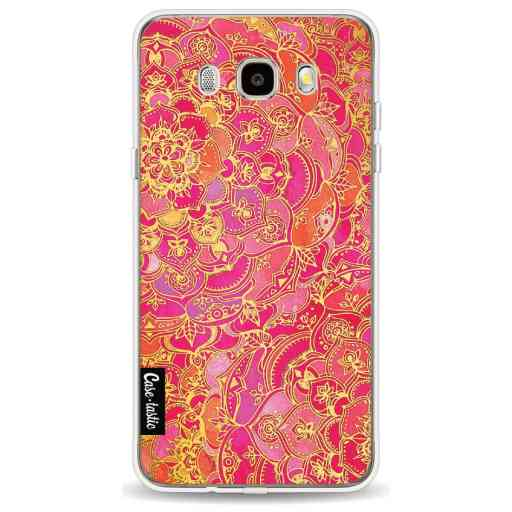 Casetastic Softcover Samsung Galaxy J5 (2016) - Hot Pink Barroque