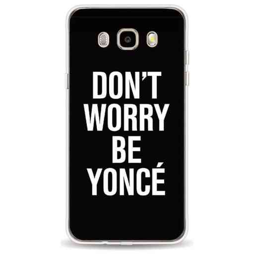 Casetastic Softcover Samsung Galaxy J5 (2016) - Don't Worry Beyoncé