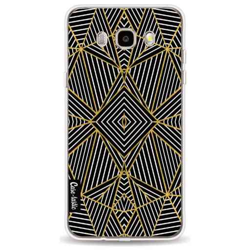 Casetastic Softcover Samsung Galaxy J5 (2016) - Abstraction Half Gold