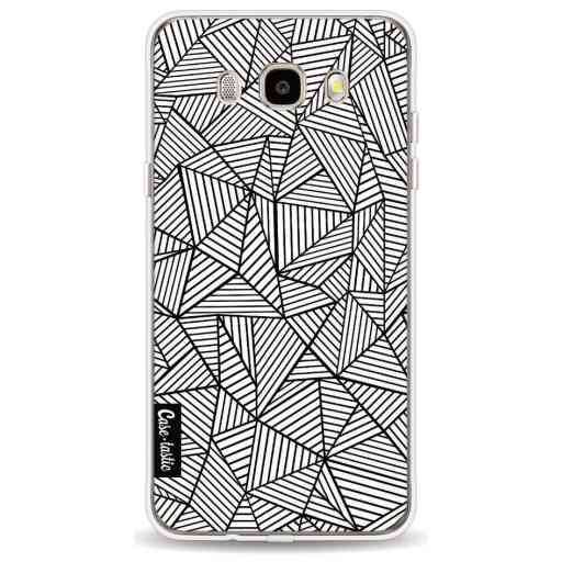 Casetastic Softcover Samsung Galaxy J5 (2016) - Abstraction Lines