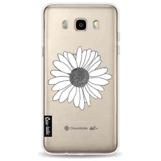 Casetastic Softcover Samsung Galaxy J5 (2016) - Daisy Transparent