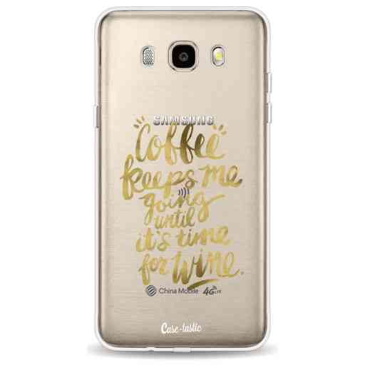Casetastic Softcover Samsung Galaxy J5 (2016) - Coffee Wine Gold