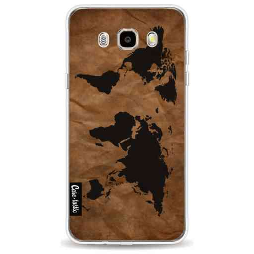 Casetastic Softcover Samsung Galaxy J5 (2016) - World Map