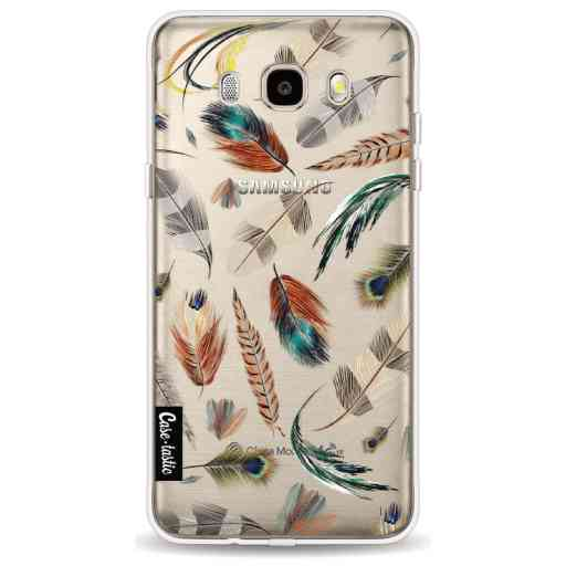 Casetastic Softcover Samsung Galaxy J5 (2016) - Feathers Multi