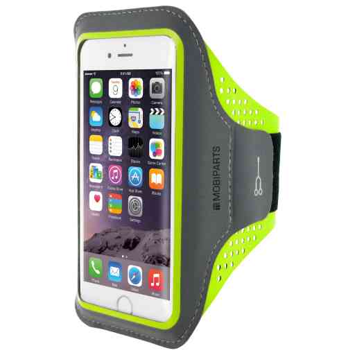 Casetastic Comfort Fit Sport Armband Apple iPhone 6/6S/7/8/SE (2020) Neon Green