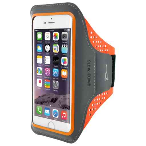 Casetastic Comfort Fit Sport Armband Apple iPhone 6/6S/7/8/SE (2020) Neon Orange