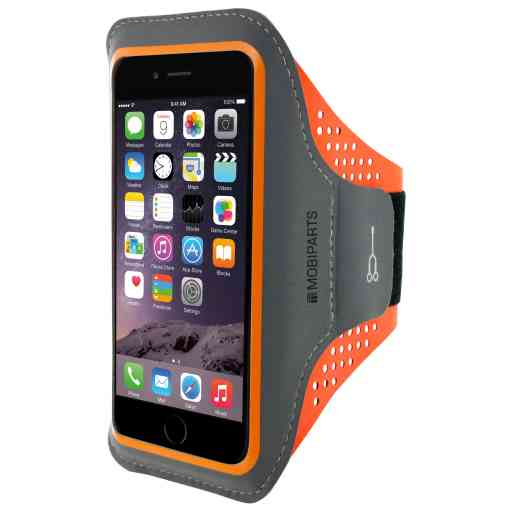 Casetastic Comfort Fit Sport Armband Apple iPhone 6 Plus/6S Plus/7 Plus/8 Plus Neon Orange