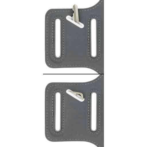 Casetastic Comfort Fit Sport Armband Apple iPhone 6 Plus/6S Plus/7 Plus/8 Plus Neon Orange