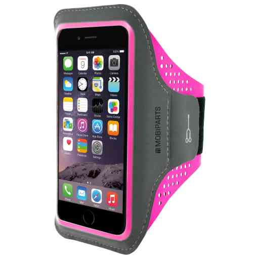 Casetastic Comfort Fit Sport Armband Apple iPhone 6 Plus/6S Plus/7 Plus/8 Plus Neon Pink