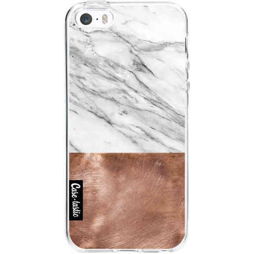 Casetastic Softcover Apple iPhone 5 / 5s / SE - Marble Copper