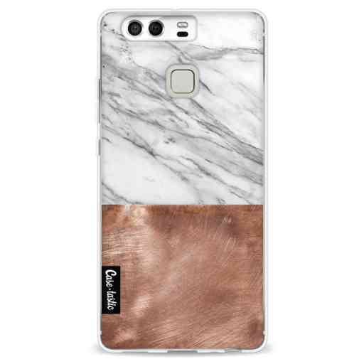 Casetastic Softcover Huawei P9  - Marble Copper