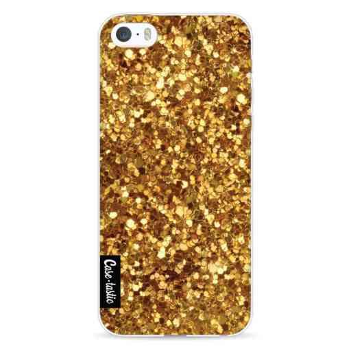 Casetastic Softcover Apple iPhone 5 / 5s / SE - Festive Gold