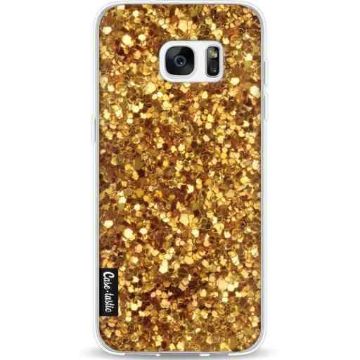 Casetastic Softcover Samsung Galaxy S7 Edge - Festive Gold