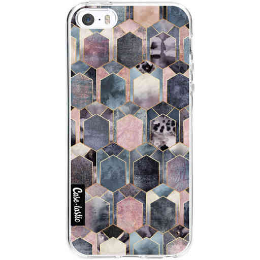 Casetastic Softcover Apple iPhone 5 / 5s / SE - Art Deco Dream