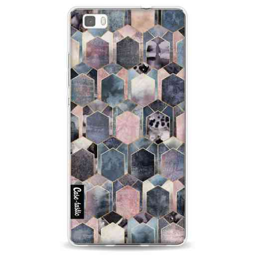 Casetastic Softcover Huawei P8 Lite (2015) - Art Deco Dream