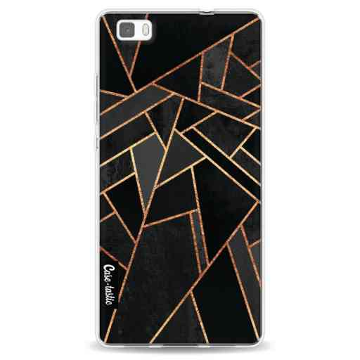 Casetastic Softcover Huawei P8 Lite (2015) - Black Night