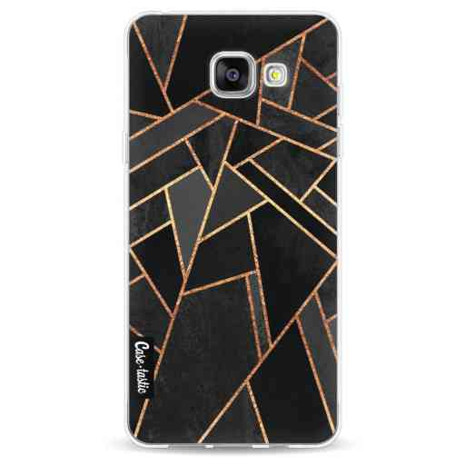 Casetastic Softcover Samsung Galaxy A5 (2016) - Black Night