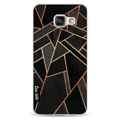 Casetastic Softcover Samsung Galaxy A3 (2016) - Black Night