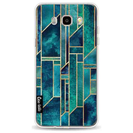 Casetastic Softcover Samsung Galaxy J5 (2016) - Blue Skies