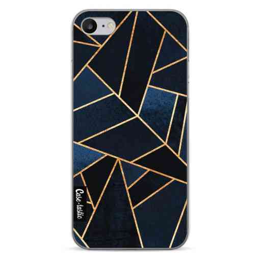 Casetastic Softcover Apple iPhone 7 / 8 / SE (2020) - Navy Stone