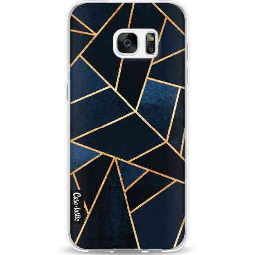 Casetastic Softcover Samsung Galaxy S7 Edge - Navy Stone
