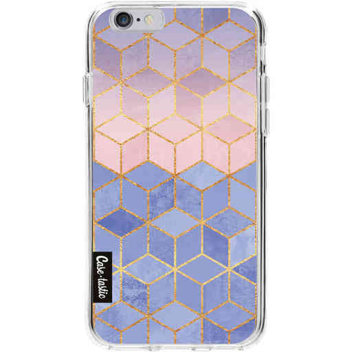 Casetastic Softcover Apple iPhone 6 / 6s  - Rose Quartz and Serenity Cubes