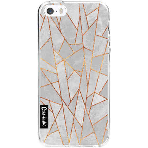 Casetastic Softcover Apple iPhone 5 / 5s / SE - Shattered Concrete