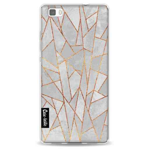 Casetastic Softcover Huawei P8 Lite (2015) - Shattered Concrete