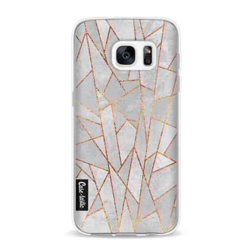 Casetastic Softcover Samsung Galaxy S7 - Shattered Concrete