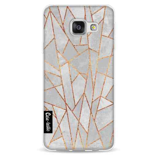Casetastic Softcover Samsung Galaxy A3 (2016) - Shattered Concrete