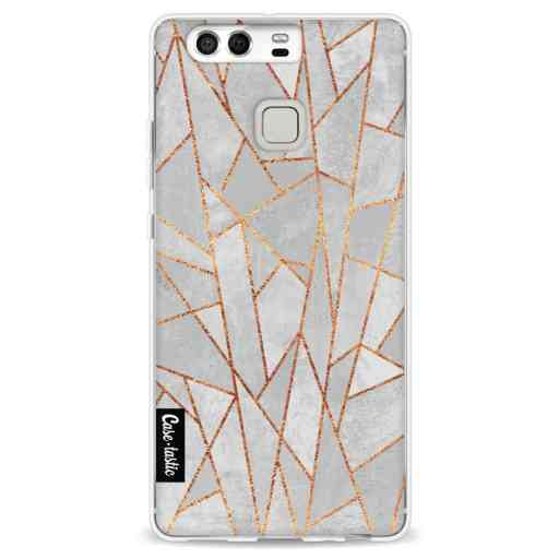 Casetastic Softcover Huawei P9  - Shattered Concrete