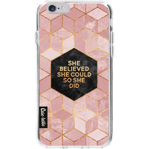 Casetastic Softcover Apple iPhone 6 / 6s  - She Believed She Could So She Did