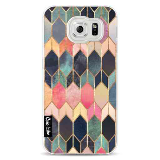 Casetastic Softcover Samsung Galaxy S6 - Stained Glass Multi