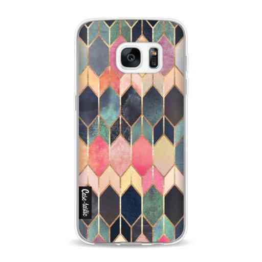 Casetastic Softcover Samsung Galaxy S7 - Stained Glass Multi