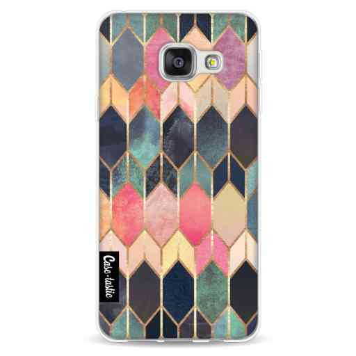 Casetastic Softcover Samsung Galaxy A3 (2016) - Stained Glass Multi