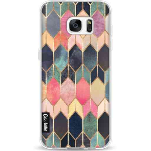 Casetastic Softcover Samsung Galaxy S7 Edge - Stained Glass Multi
