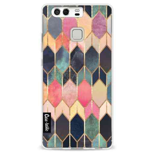 Casetastic Softcover Huawei P9  - Stained Glass Multi
