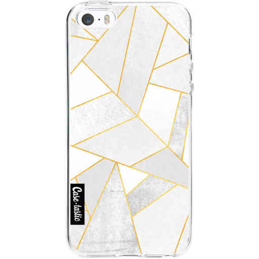 Casetastic Softcover Apple iPhone 5 / 5s / SE - White Stone
