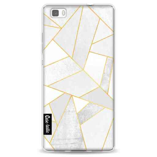 Casetastic Softcover Huawei P8 Lite - White Stone