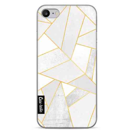 Casetastic Softcover Apple iPhone 7 / 8 / SE (2020) - White Stone