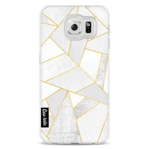 Casetastic Softcover Samsung Galaxy S6 - White Stone