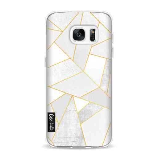 Casetastic Softcover Samsung Galaxy S7 - White Stone
