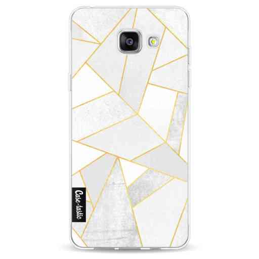 Casetastic Softcover Samsung Galaxy A5 (2016) - White Stone