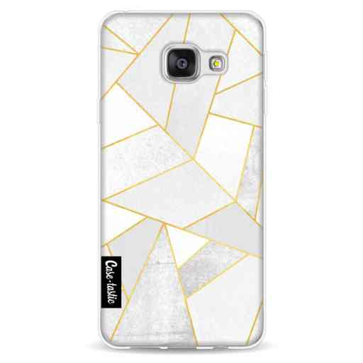 Casetastic Softcover Samsung Galaxy A3 (2016) - White Stone